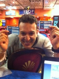 "Giorgio ""KRIPTONITE"" Silvestrin al Final Table del Mega Deep"