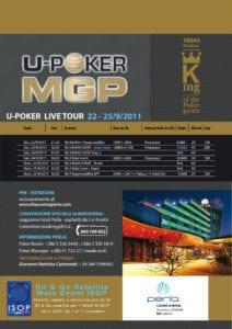 ISOP Sat MAIN EVENT Dal 22 al 25 settembre 2011 al Casino PERLA di Nova GORICA