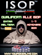 Grande successo al torneo di apertura YOU poker Live!!!