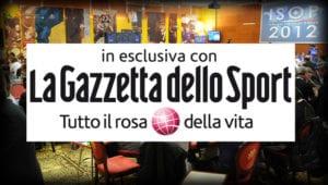 La Gazzetta dello SPORT per le ISOP!!!