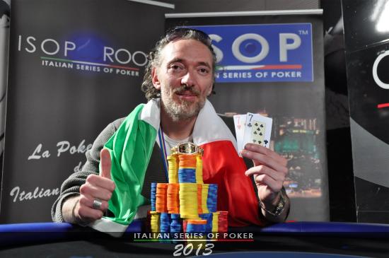 daniele sottile campione italiano 2013 poker