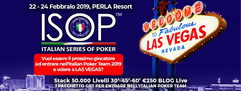 ISOP Special Dream febbraio perla resort
