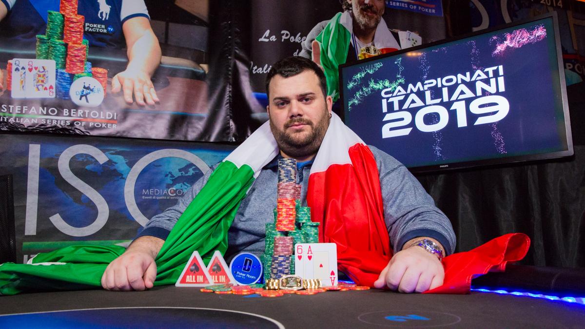 campionati italiani 2019 fausto tantillo campione italiano poker