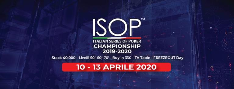 isop championship aprile 2020