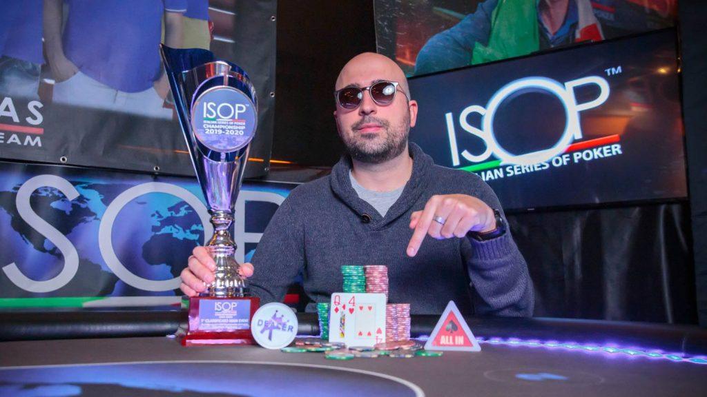 Andrea Iocco ISOP Italian Series Of Poker