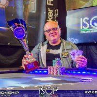 Foschi FAbio vincitore main primo evento isop campionship