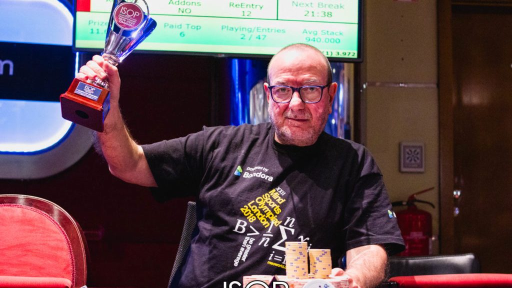 Dario De Toffoli poker ISOP Championship omaha