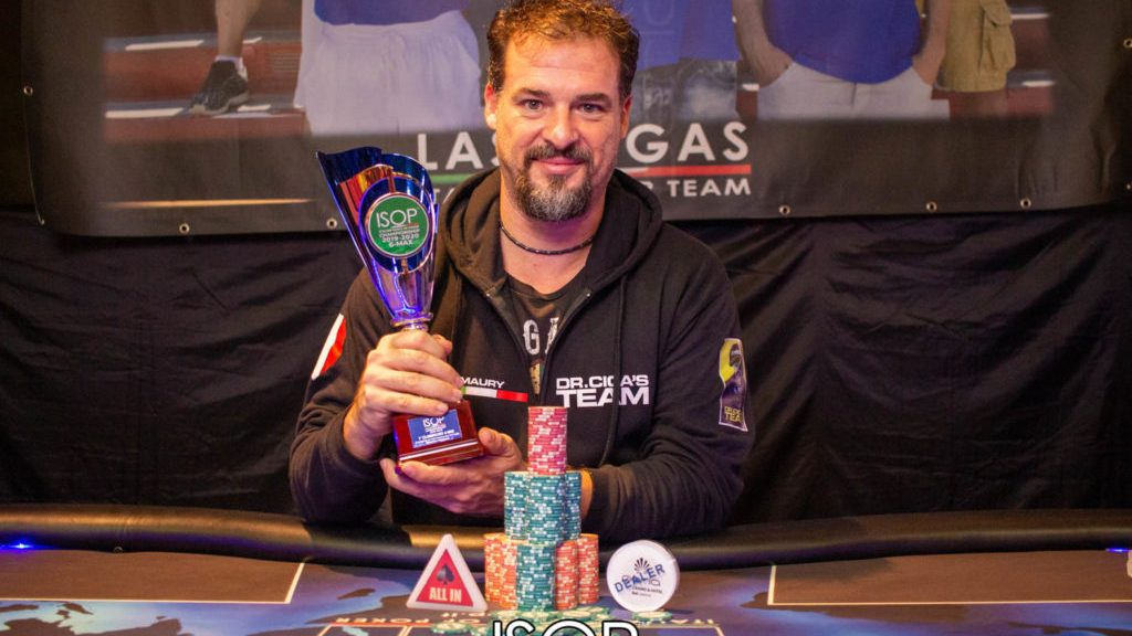 Maurizio Pigliapoco ISOP Championship poker