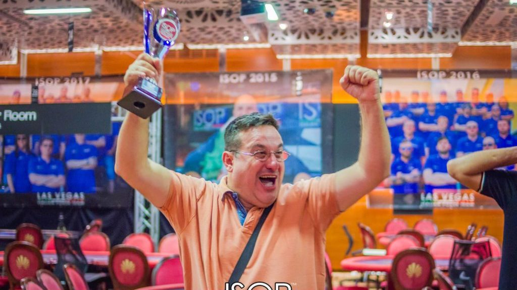 agazio gerace vincitore omaha main primo evento isop championship