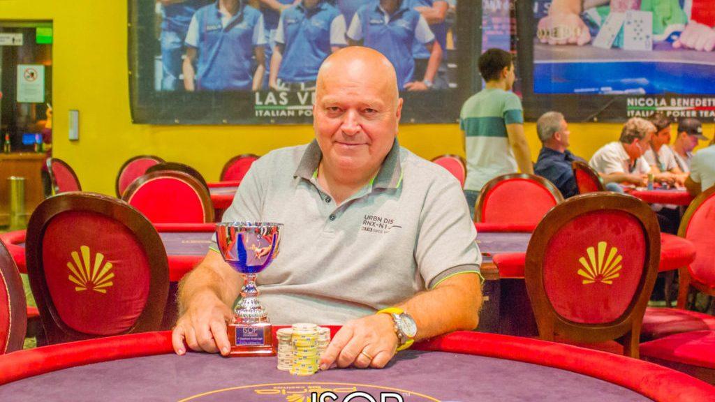carlo braccini vincitore omaha side primo evento isop championship