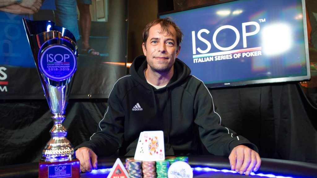 paolo desimone isop special dream italian poker team